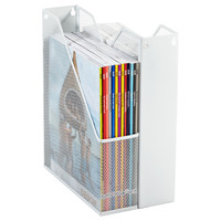 The Container Store > White Mesh Magazine File