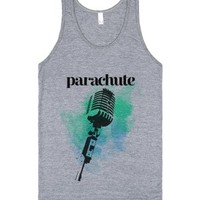 Parachute Band Tank-Unisex Athletic Grey Tank