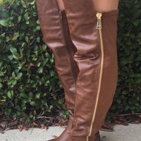 Bundle Up Boots- Brown