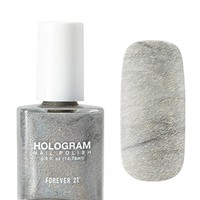 Silver Gel Look Nail Polish