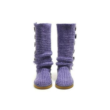 Cyber Monday Uggs Boots Bailey Button Triplet 1878 Purple For Women 87 62