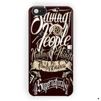 Supernatural Saving People Business For iPhone 5 / 5S / 5C Case