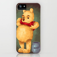 Pooh iPhone Case by Lauren Draghetti | Society6