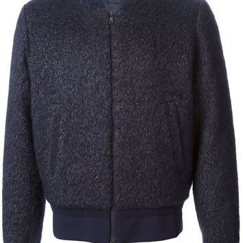 Neil Barrett felted bomber jacket