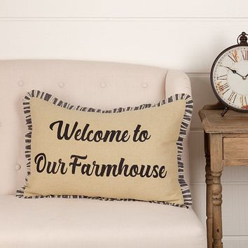 Ashmont Farmhouse Pillow