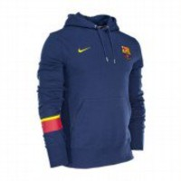 Nike FC Barcelona Core Hoodie Hooded Sweater Hoody Jacket - Midnight Navy
