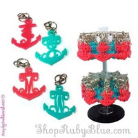 Simply Southern Cutout Initial Keychains