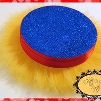 GlitterMagicParty - Snow White Party, Cakepops or Lollipops Stand - Tutu Stand - Snow White Inspired Party Decoration