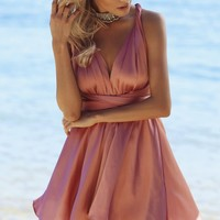 Luxe For Days Dress Rose