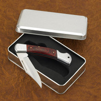 Yukon Lock Back Knife -Monogrammed - Engraved - Personalized - Gift For Men - Groomsmen - (640)