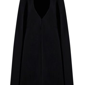 Cana Black Cape Jacket