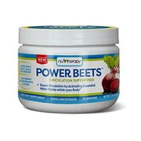 Nu-Therapy Power Beets Super Concentrated Circulation Superfood Dietary Supplement – Delicious Acai Berry...