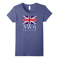 SW6 FULHAM LONDON Tshirt by Scarebaby