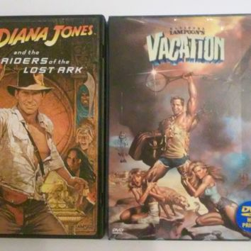 National Lampoon's Vacation DVD (NEW) or Indiana Jones Raiders of the Lost Ark DVD