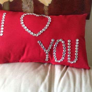 I Love You Pillow (Free Shipping)