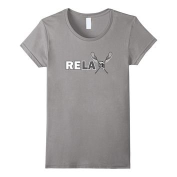 Re-lax Shirt - Relax Lacrosse Tee