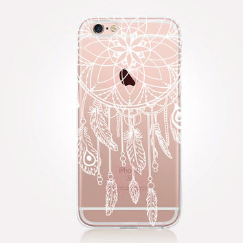 Transparent Dreamcatcher iPhone Case- Transparent Case - Clear Case - Transparent iPhone 6 - Transparent iPhone 5 - Transparent iPhone 4