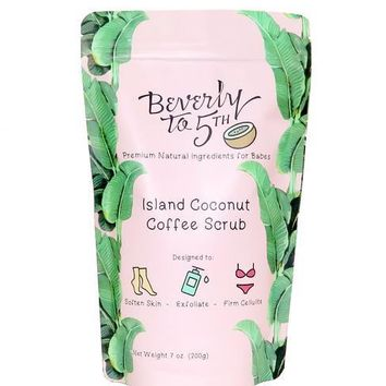 Beverly to 5th x Coconut Coffee Scrub