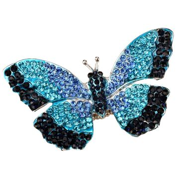Butterfly Stretch Ring Scarf Summer Jewelry Gifts