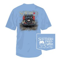 Muddin' Tee in Faded Jeans by Southern Fried Cotton
