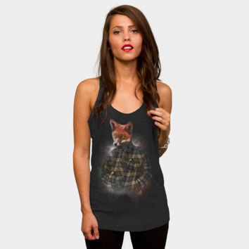 Blizzard Fox Tank Top By Daniacdg Design By Humans