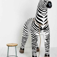 Oversized Inflatable Zebra- Black & White One