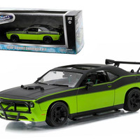 """Letty's 2014 Dodge Challenger SRT-8 """"Fast and Furious-Fast 7"""" Movie (2014) 1-43 Diecast Model Car by Greenlight"""