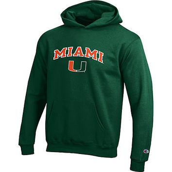 University of Miami Youth Hooded Sweatshirt | University Of Miami