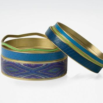 Pacific Polymer Clay Bangles