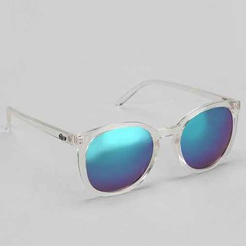 Quay Dixi Square Sunglasses- Clear One