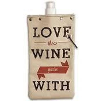 Love the Wine You're With - Canvas Canteen 750ml