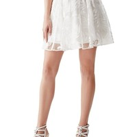 Letizia Flared Skirt | GUESS.com