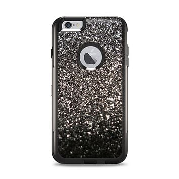 The Black Unfocused Sparkle Apple iPhone 6 Plus Otterbox Commuter Case Skin Set