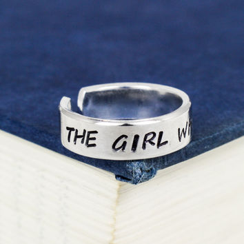 The Girl Who Waited - Doctor Who - Adjustable Aluminum Ring