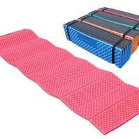ultralight outdoor mattress camping picnic mat plaid foam sleeping pad mattress Folding waterproof 190*57*2cm