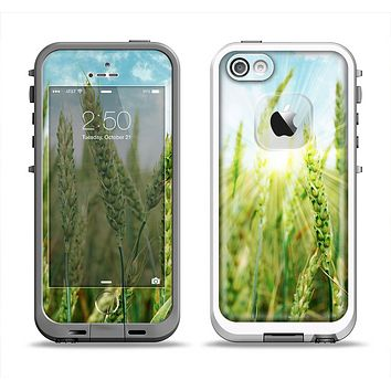 The Sunny Wheat Field Apple iPhone 5-5s LifeProof Fre Case Skin Set