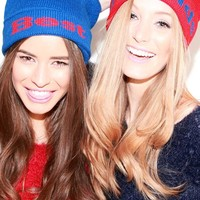 Charlotte 'Best Friends' Beanie Hats - Pack of 2