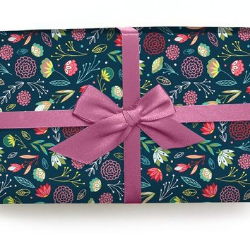 Budding Romance- Wrapping Paper