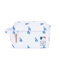 Herschel Supply Co. Chapter LA Dodgers MLB Travel Bag White