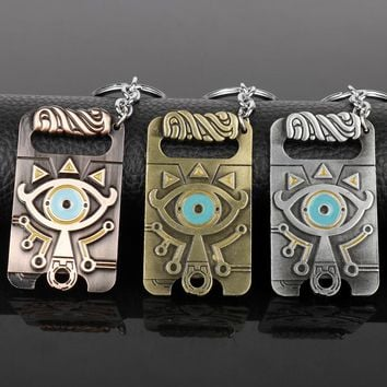 Pyramid Egyptian Eye Of Horus Keyring Men Gift -50
