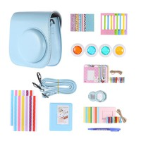 FujiFilm Instax Mini 8 Accessories Kit for Fujifilm Instax Mini 8, Mini 8+, includes Custom Case + Assorted Frames +Photo Album