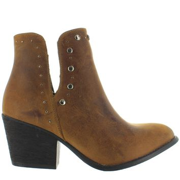 Musse & Cloud Aster - Cue Leather Studded Western Bootie