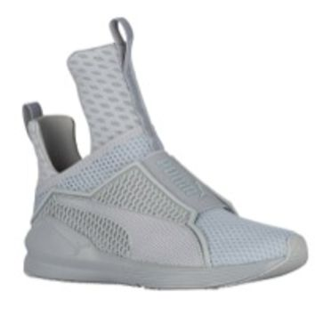 PUMA Fenty Trainer Hi - Women's at Lady Foot Locker