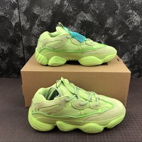 Adidas Yeezy 500 Desert Rat Green Sneakers - Best Online Sale