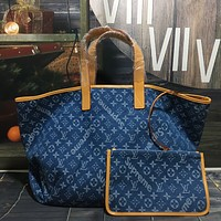 LV Louis Vuitton WOMEN'S CANVAS HANDBAG TOTE BAG