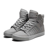 SUPRA SKYTOP Shoe | GREY - GREY | Official SUPRA Footwear Site