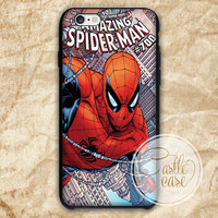 THE AMAZING SPIDERMAN iPhone 4/4S, 5/5S, 5C Series Hard Plastic Case