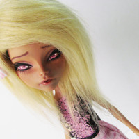 OOAK Monster High Repaint Cleo De Nile Repaint Custom Doll Monster High Custom