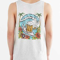 OBEY Cold Beer Tank Top- Cream