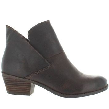 ESBONIG Me Too Zale - Brown Leather Pull-On Bootie